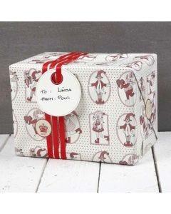 Cadeaus verpakt in Vivi Gade Copenhagen Design Papier