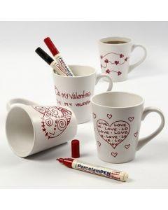 Een mok voor Valentijnsdag