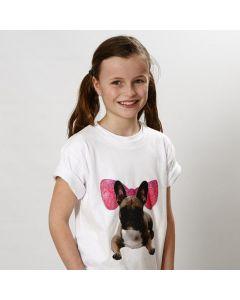 Een T-Shirt met transfer print