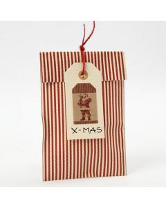 Gift Tags made from Manilla Tags with self-adhesive Stickers