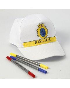 Een DIY politiepet