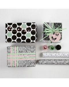 Geschenken inpakken met Vivi Gade Design geschenkpapier