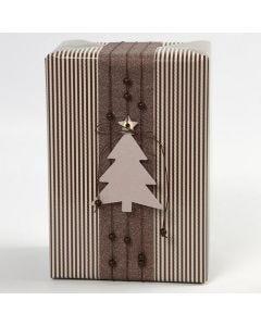 Cadeau´s met Vivi Gade cadeaupapier en decoraties (Oslo serie)