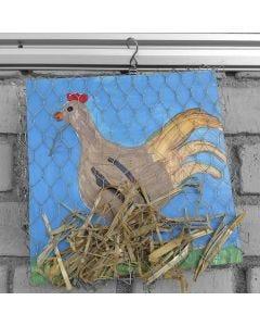 Kip op nest