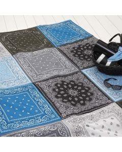 Een deken van bandana's