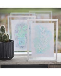 Een afbeelding gemaakt met tekengom en Aqua Paint Markers
