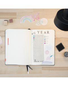 Stempelen in een Bullet Journal