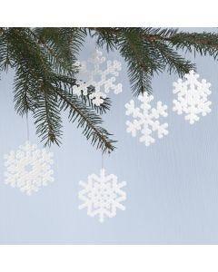 Sneeuwvlokken van Nabbi strijkkralen
