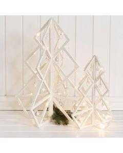3D kerstboom met kerstballen en andere kerstversiering