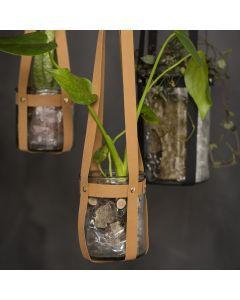 Hanger van Faux Leather vlechtstroken