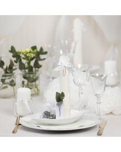 Wit op tafel