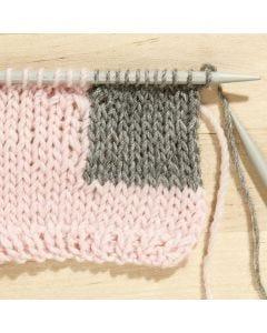 Leer de intarsia-techniek breien
