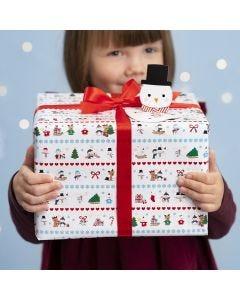 Kerstcadeaus inpakken met Winter Wonderland motieven