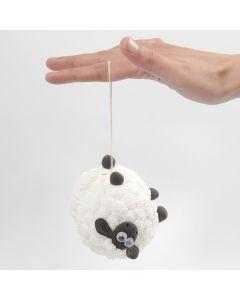 Shaun het Schaap jojo met Foam Clay