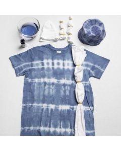Tie-dye met elastiekjes