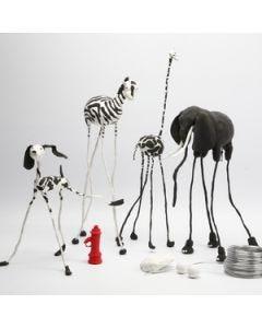 Dierenpark met Silk Clay