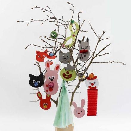 Sjablonen voor hangende decoraties