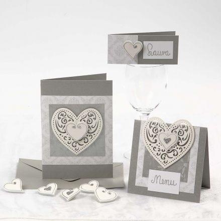 Romantische kaarten – voor bruiloftsfeesten