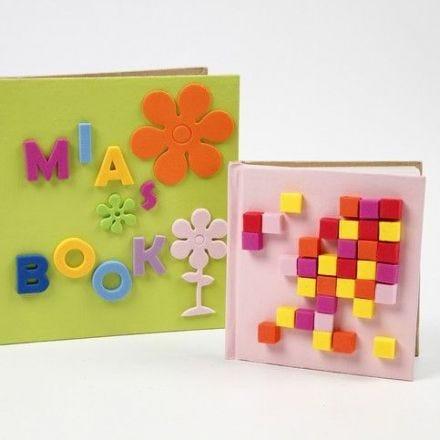 Notitieboeken met foam rubber