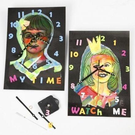 Gelamineerde klokken