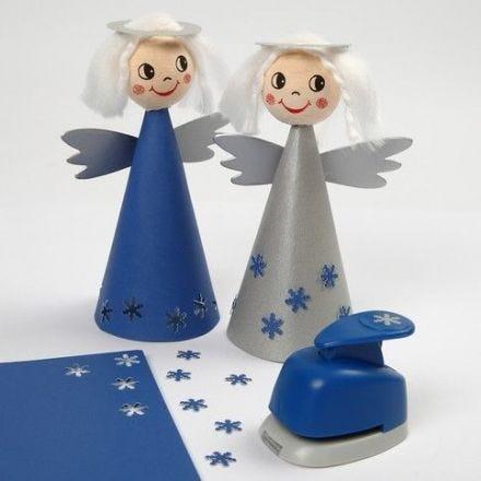 Engelen van karton