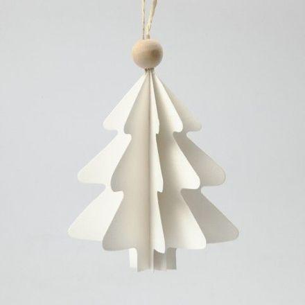 Gevouwen kerstbomen