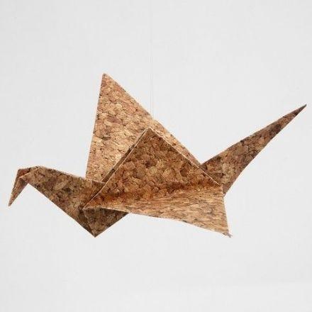 Origami vogels van origami papier