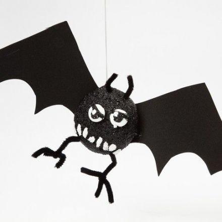 Styropor vleermuis