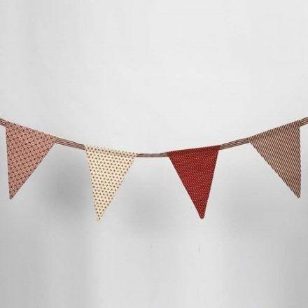 Vlaggen met Vivi Gade Design stof (de Copenhagen serie)