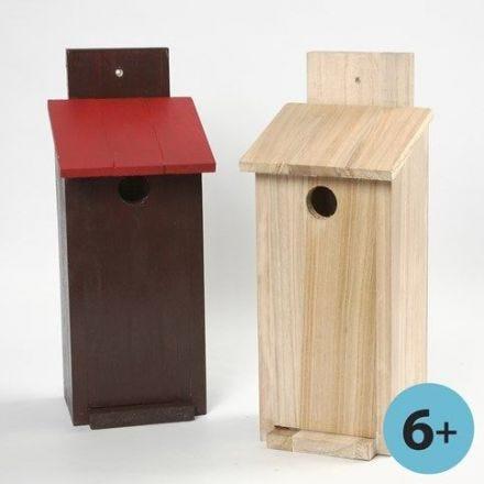 Bouw zelf een vogelhuis