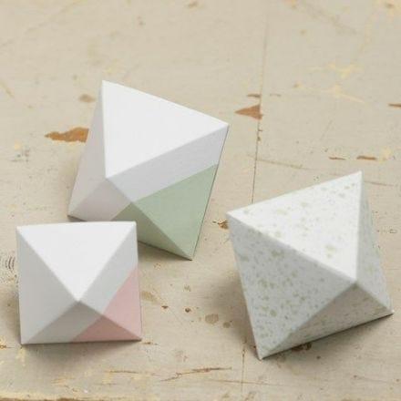 Een diamant van karton