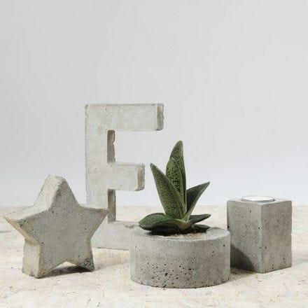 Decoraties van beton deco