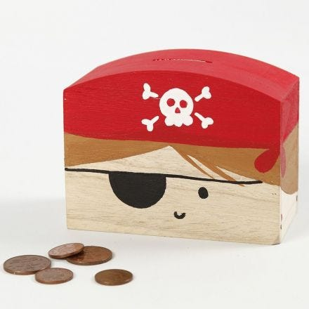 Piraten Spaarpot