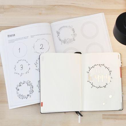 Leer handletteren in je bullet journal