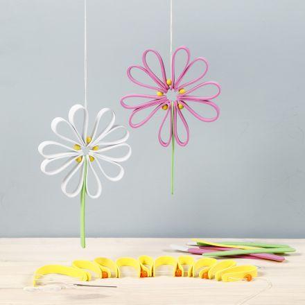 Kleurrijke bloemen van Foam Rubber