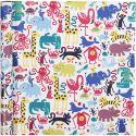 Inpakpapier, zoo, B: 70 cm, 80 gr, 4 m/ 1 rol