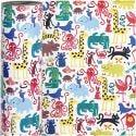 Inpakpapier, zoo, B: 57 cm, 80 gr, 150 m/ 1 rol