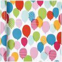 Inpakpapier, ballonnen, B: 57 cm, 80 gr, 4 m/ 1 rol