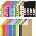 Color Bar karton, A4, 210x297 mm, 250 gr, diverse kleuren, 32x10 vel/ 1 doos