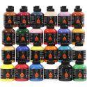 Pigment Art School, diverse kleuren, 24x500 ml/ 1 doos