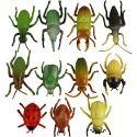 Insecten, afm 5 cm, 60 stuk/ 1 doos