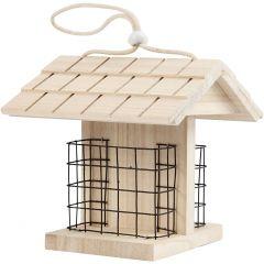 Vogelvoederhuis, H: 17.5 cm, L: 11.6 cm, B: 13,5 cm, 1 stuk