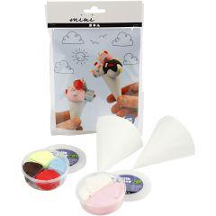 Mini Creatieve Set, ijsjes, 1 set