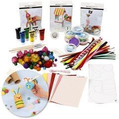 Kit - Creatief met recycling, 1 set