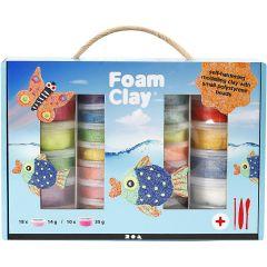 Foam Clay® Set , diverse kleuren, 1 set