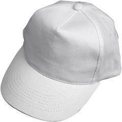 Cap, afm 49,5-56 cm, wit, 1 stuk