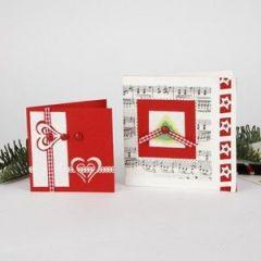 Christmas card- step by step