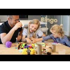 Speel knutselbingo met het hele gezin