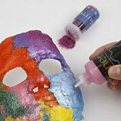 Maskers van gipsgaas