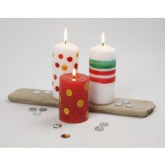 Kaarsen decoreren
